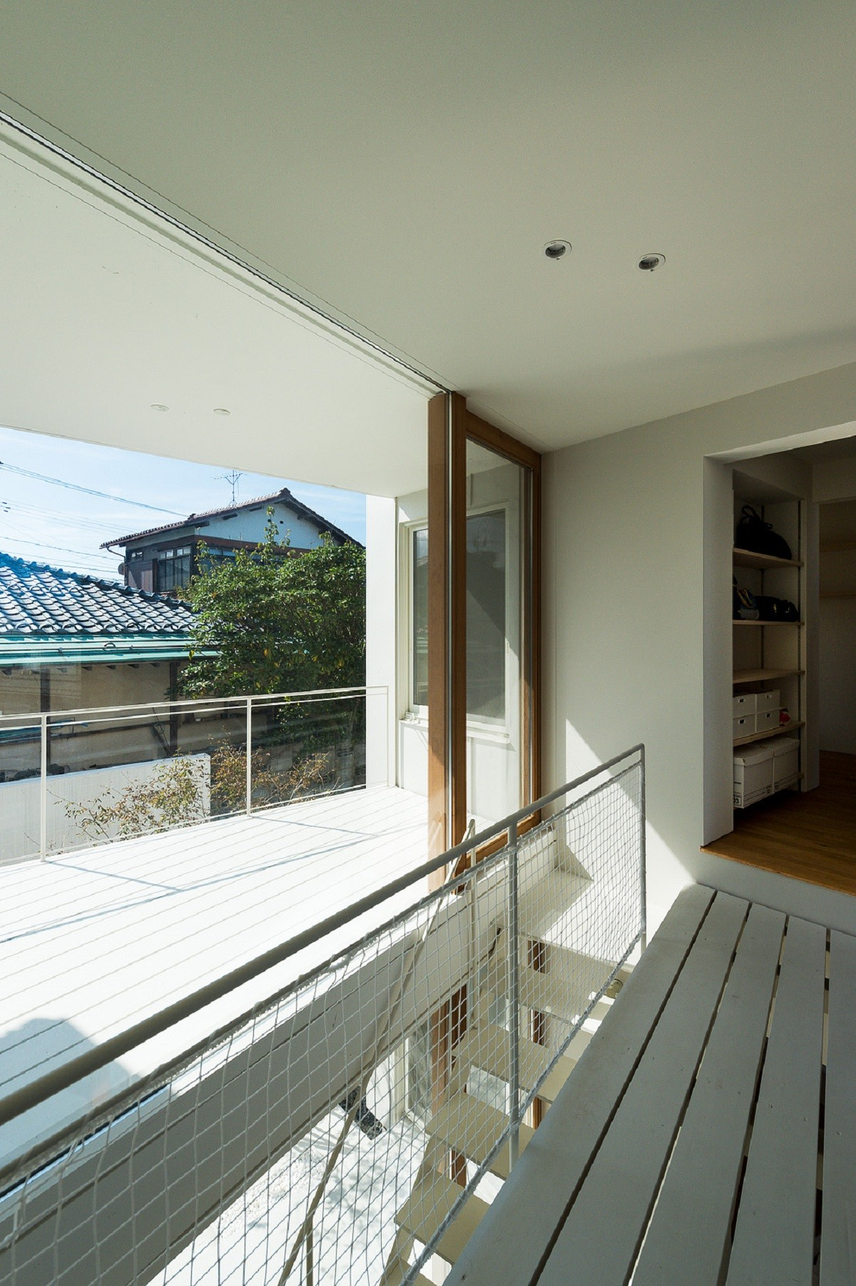 その他事例:廊下・テラス(su house)