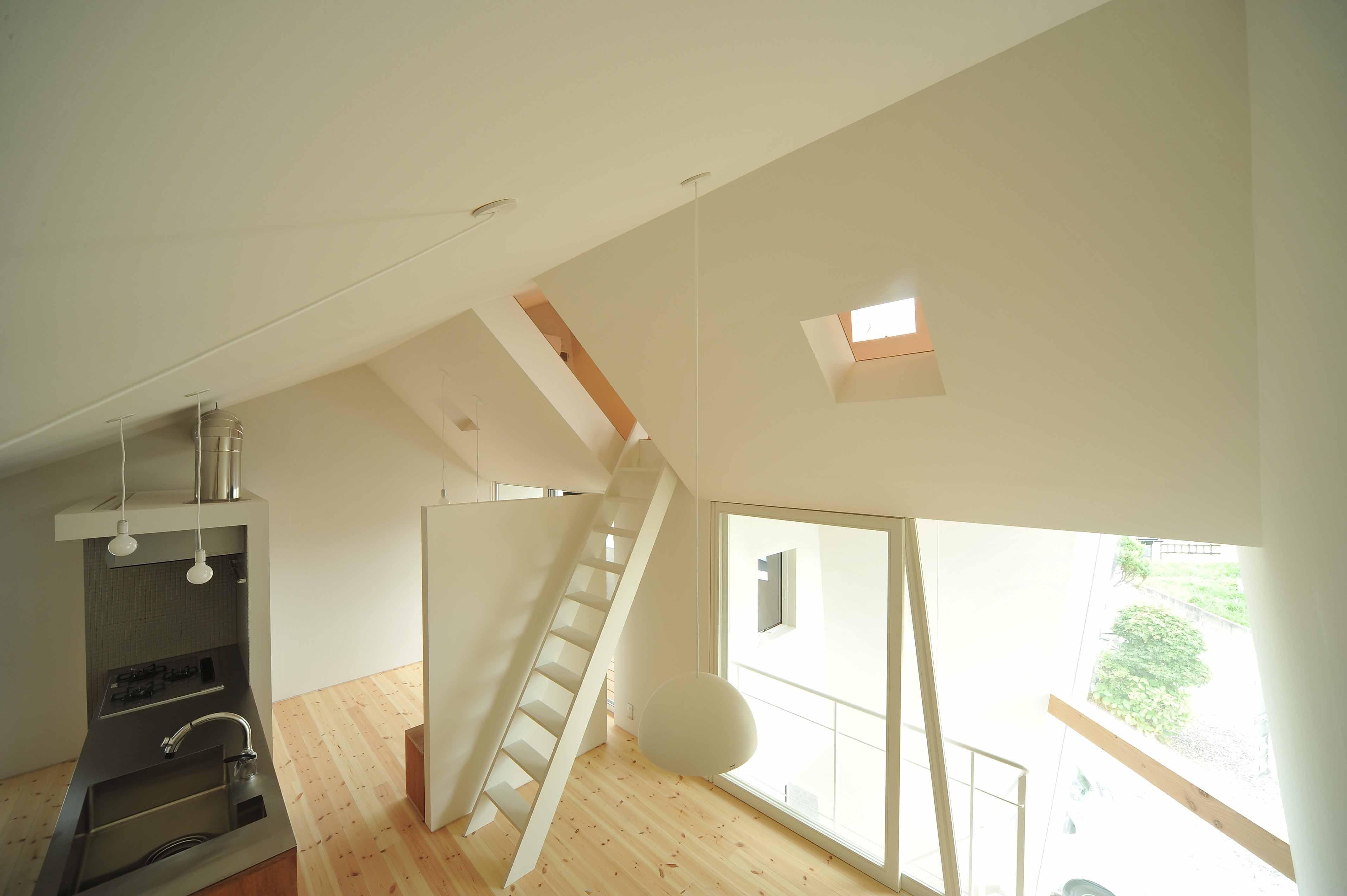 キッチン事例:キッチン(shiro house)