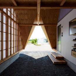 ガレージ (hara house)