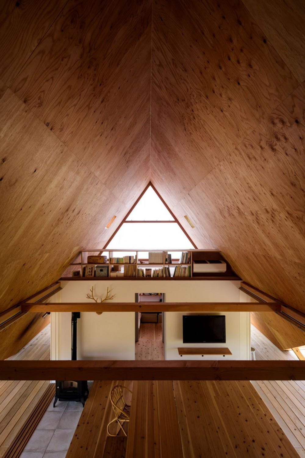 hara house (書斎・リビング)