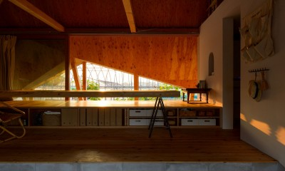 hara house (リビングダイニング)