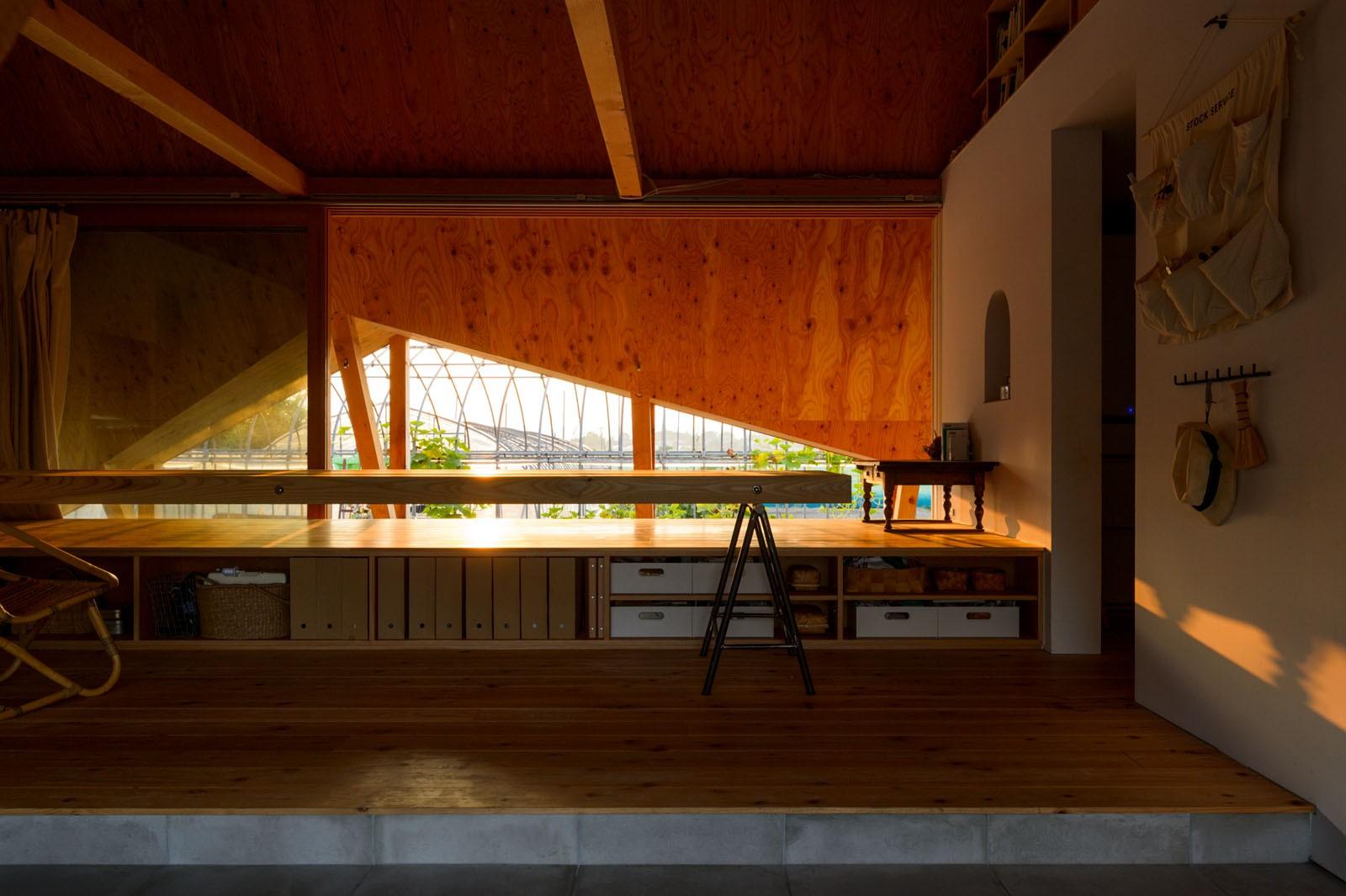 リビングダイニング事例:リビングダイニング(hara house)