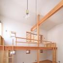 寛ぎの家~家事を楽にこなしてゆとりの時間を楽しむ家~の写真 子供室