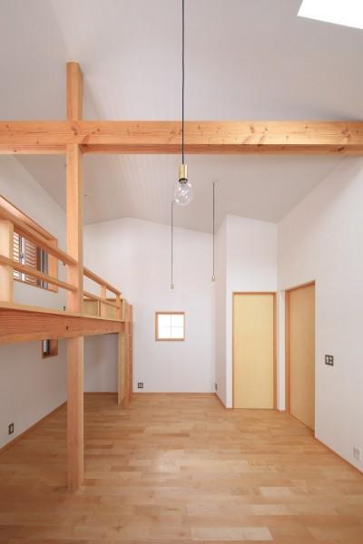 子供室 (寛ぎの家~家事を楽にこなしてゆとりの時間を楽しむ家~)