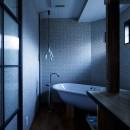 SENSUOUS-築50年以上の古さを生かし、デザインと素材にこだわった家づくりの写真 バスルーム