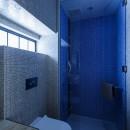 SENSUOUS-築50年以上の古さを生かし、デザインと素材にこだわった家づくりの写真 トイレ・シャワー室