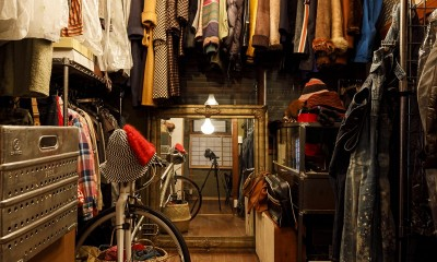 SENSUOUS-築50年以上の古さを生かし、デザインと素材にこだわった家づくり (クローゼット)