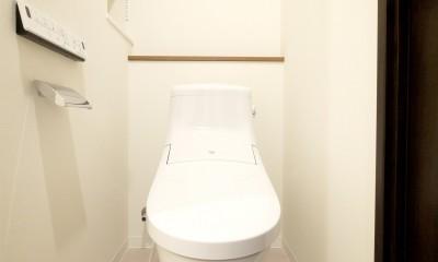 築50年のマンションを住みやすい賃貸ルームに (トイレ)