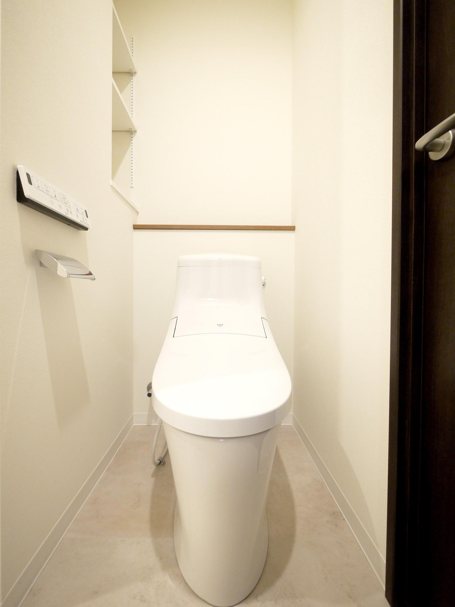 バス/トイレ事例:トイレ(築50年のマンションを住みやすい賃貸ルームに)