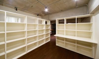 本棚のある部屋|rust リノベ×(デザリボ+リブロック)=無骨でおしゃれな空間