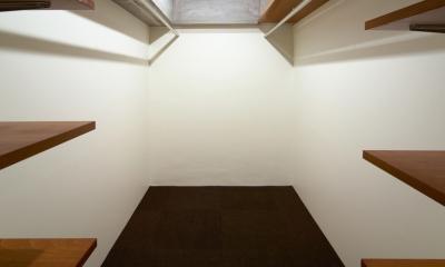 rust リノベ×(デザリボ+リブロック)=無骨でおしゃれな空間 (収納スペース)