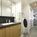 住み心地のいいマンションにの写真 洗面室