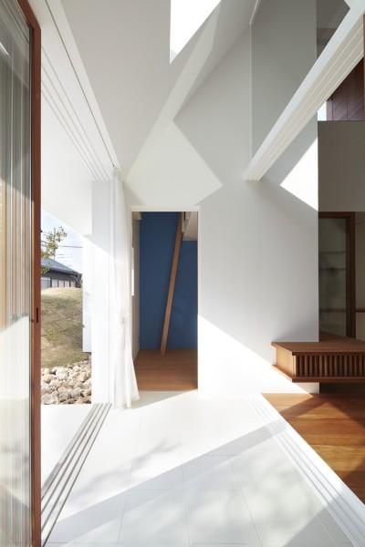 キッズルーム (大垣の家 / インナーテラスに囲まれた三角屋根の家)