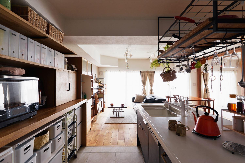 キッチン事例:キッチン(K邸_10点満点!)