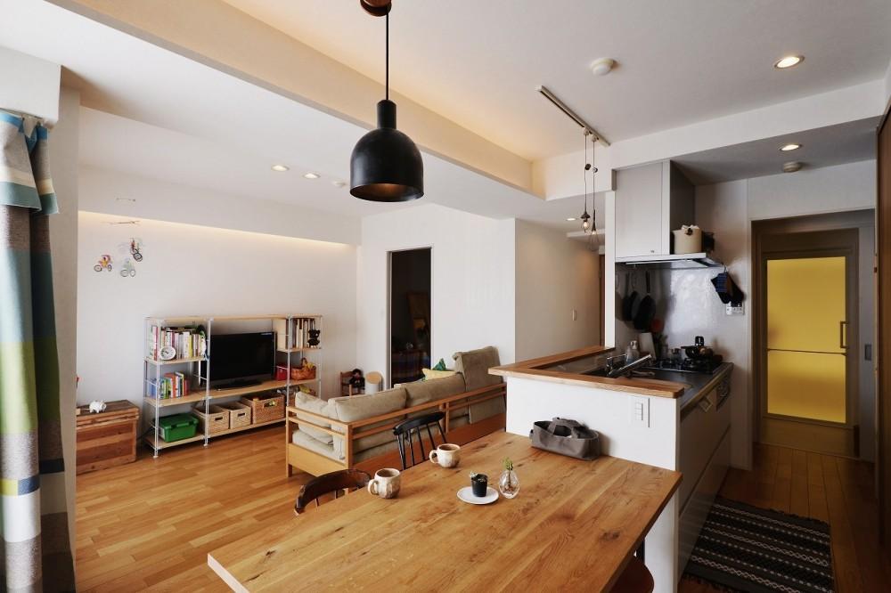 ツナガル家 (キッチンは暮らしの真ん中)