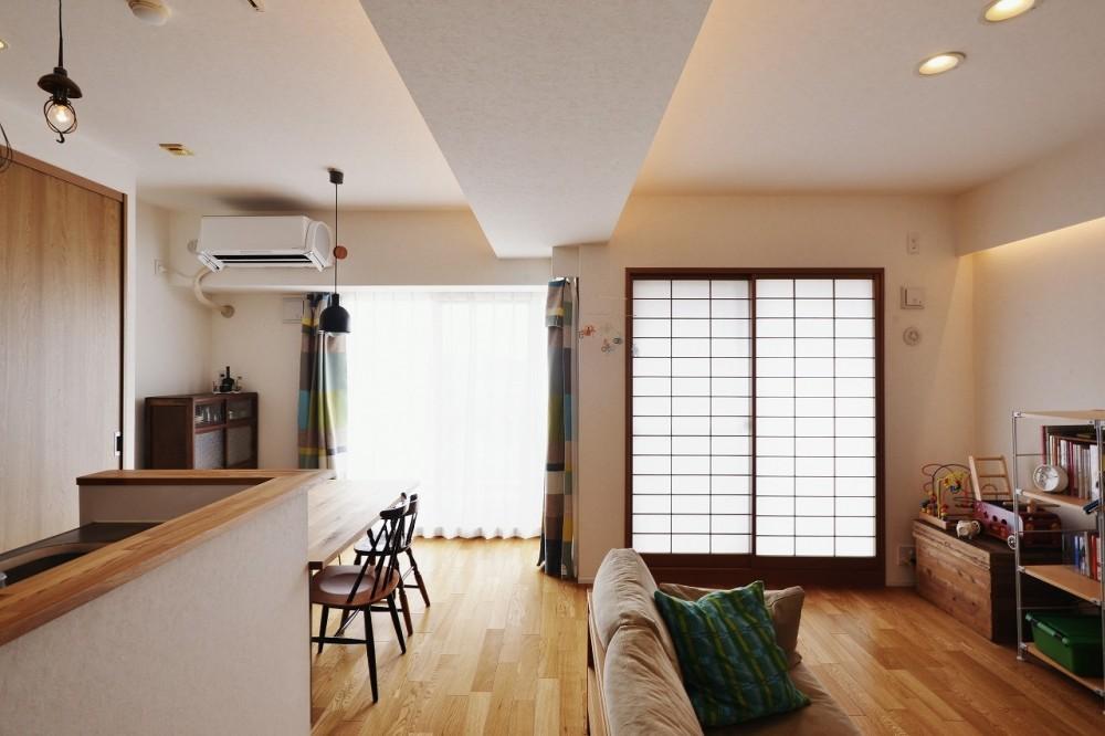 ツナガル家 (リメイクした障子でほっこり「和」)