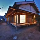 静岡の石場建ての写真 東側