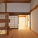 静岡の石場建ての写真 小屋裏部屋