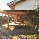 静岡の石場建ての写真 深い軒