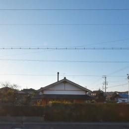 静岡の石場建て (煙突!)