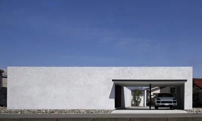 【ichinokuta】無駄のない美空間が広がる平屋のコートハウス