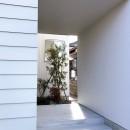 静穏の家の写真 玄関ポーチ
