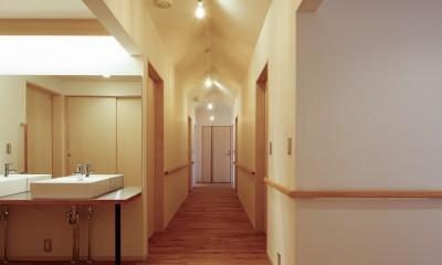 廊下|グループホームひなぎく