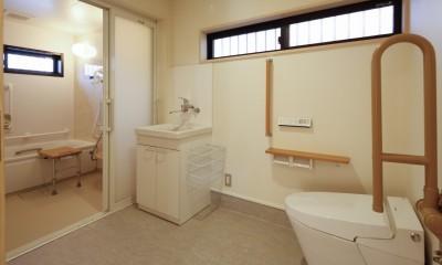 バリアフリートイレ・浴室|グループホームひなぎく