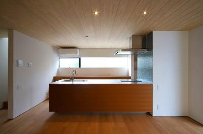 キッチン (【konan】美しく整ったガレージハウス)