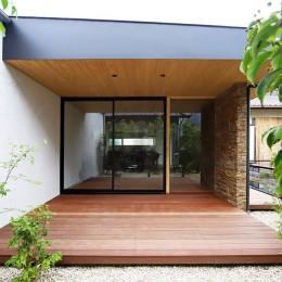 【konan】美しく整ったガレージハウス (庭)