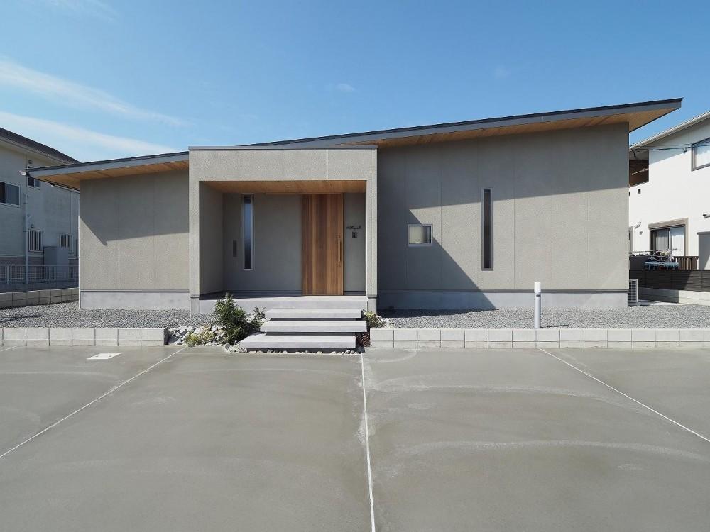 外観 (須賀崎の家  ロの字のコートハウス)