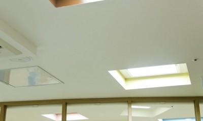 MO練馬 (天窓から自然光がたっぷり入ってきます。)