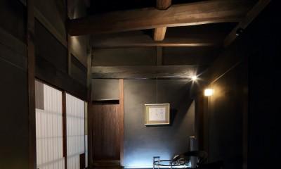 小浜の民家再生 (玄関)