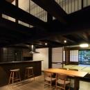 小浜の民家再生の写真 食堂台所