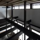 小浜の民家再生の写真 食堂吹抜