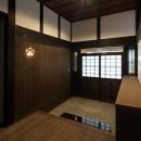 飯盛の民家 [軸組再生の住まい]の写真 玄関