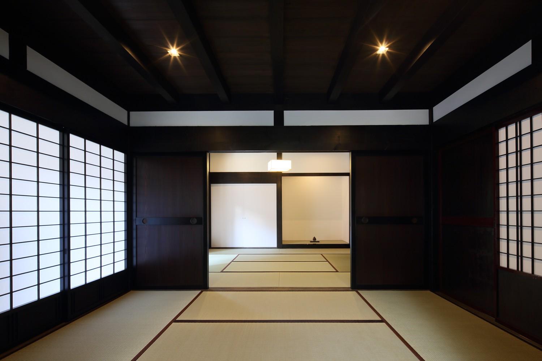 その他事例:和室(飯盛の民家 [軸組再生の住まい])