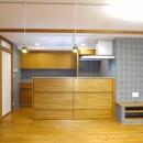吉野杉の家 (マンションリノベーション)の写真 キッチン