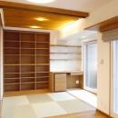 吉野杉の家 (マンションリノベーション)の写真 畳コーナー