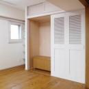 吉野杉の家 (マンションリノベーション)の写真 子供室