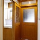 吉野杉の家 (マンションリノベーション)の写真 廊下・水廻り