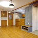 吉野杉の家 (マンションリノベーション)の写真 リビング