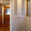 吉野杉の家 (マンションリノベーション)の写真 玄関・廊下