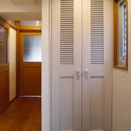 吉野杉の家 (マンションリノベーション) (玄関・廊下)