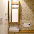 吉野杉の家 (マンションリノベーション)の写真 トイレ