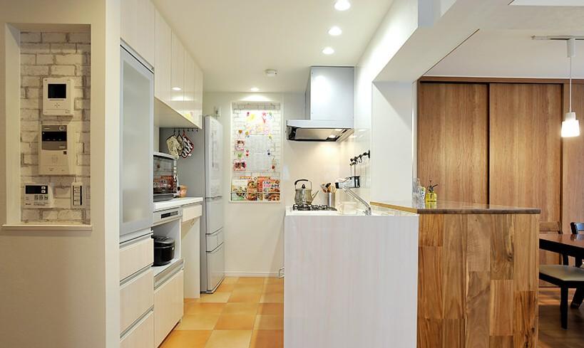 キッチン事例:キッチン(築25年子供の成長を機にDIYリノベーション)