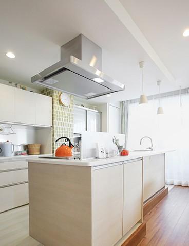 キッチン事例:キッチン(母娘で料理を楽しむ住まい)
