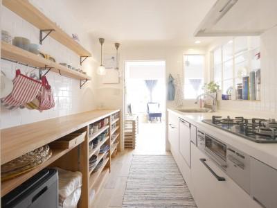 キッチン (イメージを現実の暮らしへ)