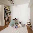 子育ても楽しむママの夢を叶えたライフスタイルの写真 子供部屋
