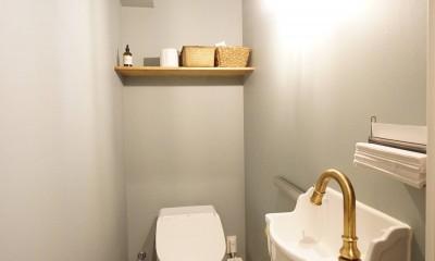 子育ても楽しむママの夢を叶えたライフスタイル (トイレ)